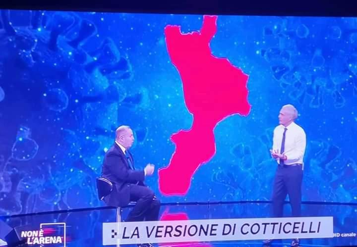 Non è l'Arena sul caso Cotticelli: è show su La7