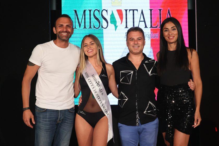 Alessandra Sicilia vince la fascia di Miss Città di Stefanaconi