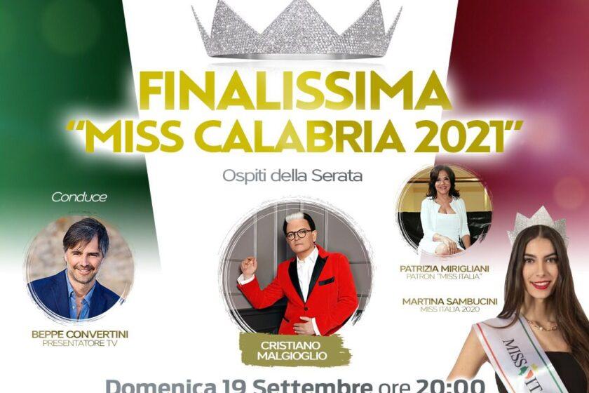 Miss Italia Calabria. Tutto pronto per la finalissima il 19 settembre a Cosenza.